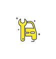 Auto repair icon design
