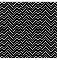 Black and white zigzag chevron minimal simple vector image vector image