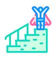 career advancement color icon