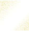 Dotted Yellow Background Halftone Pattern vector image vector image