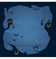 Halloween frame background vector image vector image