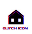 house icon flat vector image vector image