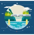 Planning Summer Vacation Tourism and Journey vector image vector image