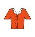 pyjama sleep wear vector image vector image