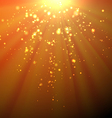 Sunrays Background vector image vector image