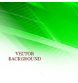 abstract green light background with polygonal vector image vector image