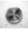 Abstract Technology Volume Knob vector image vector image