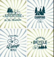 bicycle retro vintage background vector image