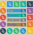 Local Network icon sign Set of twenty colored flat vector image vector image
