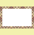 rectangle borders and frames border pattern vector image vector image