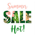 Summer sale design template