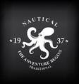 t-shirt print design nautical marine badge design vector image