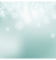 Abstract Christmas background snowflakes EPS8 vector image vector image