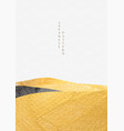art landscape background with gold texture vector image vector image