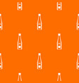 Bottle of ketchup pattern seamless vector image