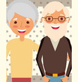 grandparents day people vector image vector image