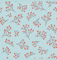 seamless pattern for new year and christmas vector image vector image