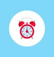 alarm clock icon sign symbol vector image