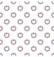 Bead pattern seamless vector image