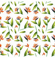 bird of paradise seamless pattern vector image vector image