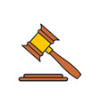 finance law icon on white background for graphic vector image