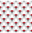 mosquitoes seamless pattern vector image