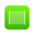 perforated gate icon digital green vector image vector image