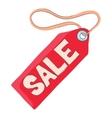 Tag sale icon cartoon style vector image vector image