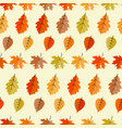 abstract seamless pattern background with falling vector image vector image