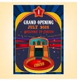 Circus Poster Image vector image vector image
