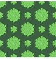 Creative Ornamental Seamless Green Pattern vector image vector image