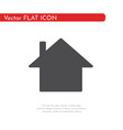 flat icon house for web business finance and vector image vector image