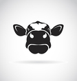 image an cow head vector image vector image