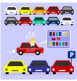 Parking Lot is Full vector image