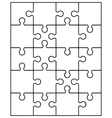 puzla3 vector image vector image