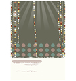 retro glamorous decorations vector image vector image