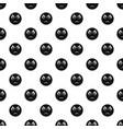 sad smile pattern seamless vector image