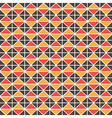 Triangluar retro pattern vector image vector image