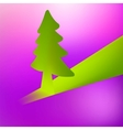 3D Christmas tree background EPS8 vector image