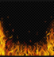 Background fire flames