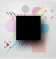 background with abstract colorful pattern vector image vector image