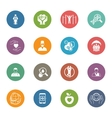 Medical and Health Care Icons Set Flat Design vector image vector image