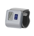 sphygmomanometer blood pressure meter with vector image vector image