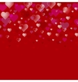 Abstract Valentine s Day background vector image vector image