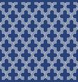 arabesque quatrefoil lattice pattern outline vector image vector image
