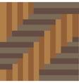 brown parquet background vector image vector image