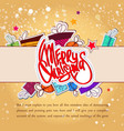 celebrating light winter background vector image vector image