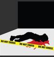 child silhouette murder