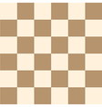 Coffee Brown Cream Chess Board Background vector image vector image