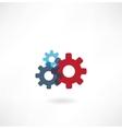cogs icon vector image vector image